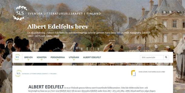 Albert_Edelfelts_brev